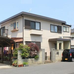 パナホーム 屋根と外壁の遮熱塗装で涼しくなりました 岐阜県大垣市  施工事例写真