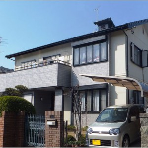 「安心してお任せできました」  岐阜・瑞穂市Y様邸 屋根・外壁塗り替え成功物語 施工事例写真