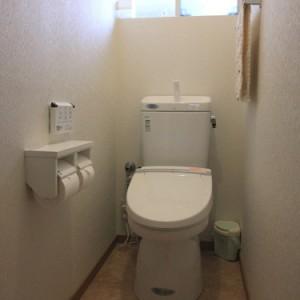 使いやすいトイレと玄関になって、とてもうれしいです。 岐阜リフォーム 施工事例写真