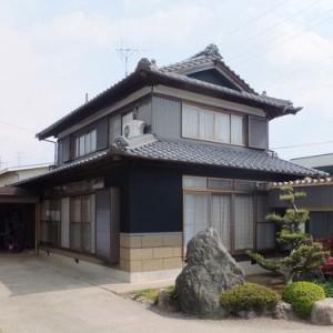 日本家屋の離れ外壁塗装リフォーム成功物語  岐阜・瑞穂市S様邸 施工事例写真