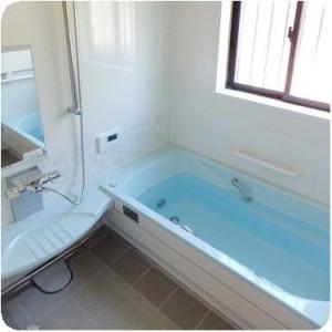広いお風呂になり家族みんなで喜んでいます。 岐阜・瑞穂市 施工事例写真