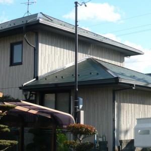 ミサワホームの家 屋根フッ素塗装成功物語  瑞穂市O様邸  施工事例写真