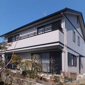 トヨタホームの家  遮熱塗装成功物語  岐阜・瑞穂市 施工事例写真