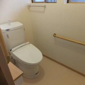 「使いやすい!すごい楽だ!」 ご主人様が感動されたトイレリフォーム 岐阜・瑞穂市 施工事例写真
