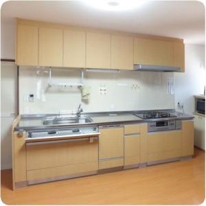 収納たっぷりの、とってもいいキッチンをありがとう。まさたか君に、お願いして本当に良かったです。 岐阜県瑞穂市 施工事例写真