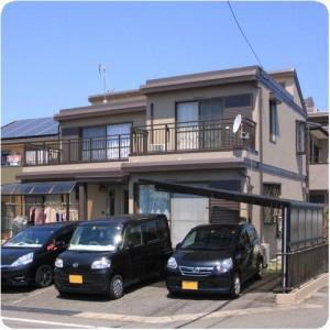 トヨタホームの塗り替え 「職人さんによってこんなにも差が?」 岐阜県瑞穂市 施工事例写真
