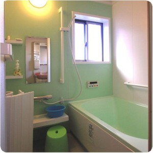 きれいで使い易くなったトイレとお風呂は、お友達が来たら必ず自慢しています。 岐阜県瑞穂市 施工事例写真