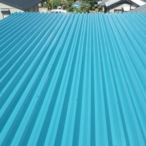 各務原市O様邸屋根塗装 「丁寧な仕事をして頂いた事がわかります」 施工事例写真
