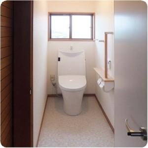 きららホームさんには何度もお世話になってますけど、人柄の良さが一番いいです。岐阜県本巣市トイレリフォーム 施工事例写真