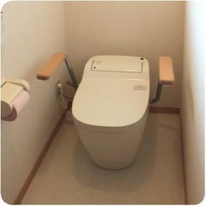 トイレがとても使いやすくなって、大助かりです。 岐阜・瑞穂市 施工事例写真