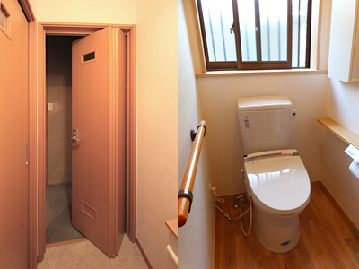 将来にわたって使いやすい安全性の高いトイレリフォームを一番に考えます。