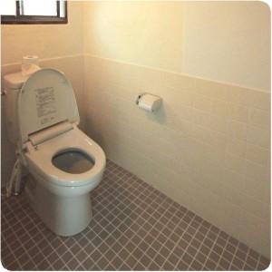 和式トイレを簡易洋式トイレにリフォーム成功物語  岐阜県瑞穂市H様邸 施工事例写真