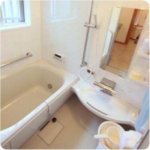 老後を見据えた、ホカホカでバリアフリーのお風呂とトイレ  岐阜・瑞穂市 施工事例写真