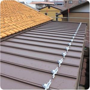岐阜・瑞穂市M様邸 瓦棒葺き屋根にリフォーム 施工事例写真