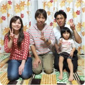 外壁をナノシリコン塗装 仲良し家族がさらに笑顔になりました  岐阜・本巣市 施工事例写真