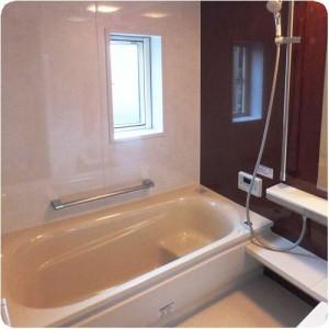 柔らかい床がいい!TOTOサザナによる浴室リフォーム 岐阜市 施工事例写真