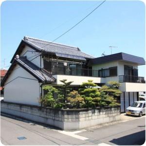 お客様が決めた理由は、隣の家での塗装職人の仕事ぶりでした 岐阜県瑞穂市 施工事例写真
