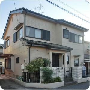 屋根の修理と外壁シリコン塗装成功物語 岐阜・瑞穂市 施工事例写真
