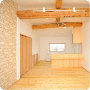 実家で同居するので2階に新しいLDKを作りたい  岐阜県瑞穂市 施工事例写真