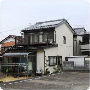 「30年安心して住めるようにしたい」外壁張替とALC塗装、屋根修理 岐阜県瑞穂市    施工事例写真