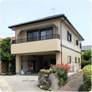 壁が変色して継ぎ目が開いているんだけど…岐阜県瑞穂市O様邸塗装 施工事例写真